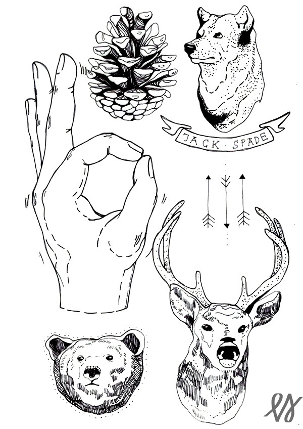Katalog Wzory Tatuaży 3 Grafika Id Portfolio Grafika